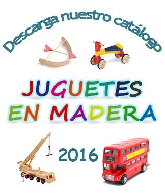 Descarga nuestro nuevo catálogo de juguetes, regalos y complementos en madera 2015