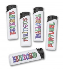 Mechero personalizado, pack 50 uds