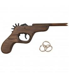 Pistola soflamada dispara gomas, pack de 12 uds