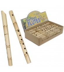 Flauta grande de bambú
