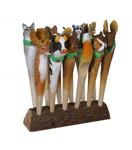 Expositor para Bolígrafos de animales