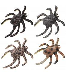 Araña antiestrés de arena 13 cm., pack de 24 uds
