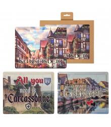 Puzzles de madera personalizados con foto, pack 6 uds