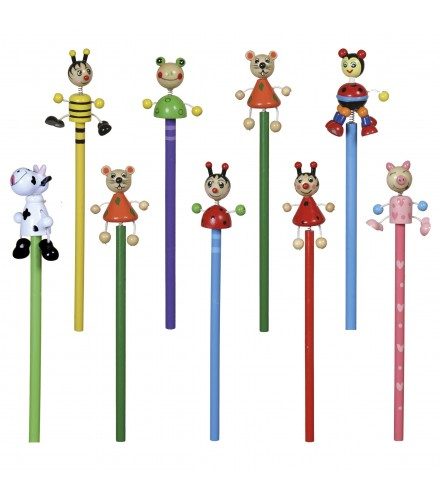 Lápices de animales