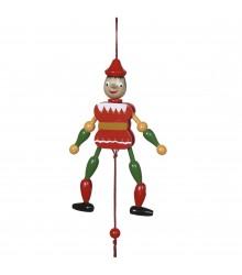 Pinocho con cuerda de 20 cm., pack de 24 udes.