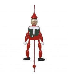 Pinocho con cuerda mediano, 12 uds