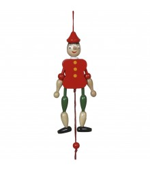 Pinocho con cuerda grande, 12 uds