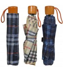 Paraguas plegable de cuadritos, pack de 12 uds