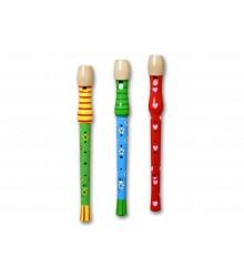 Flautas decoradas