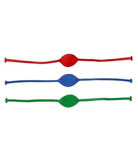 Goma para tirachinas colores surtidos, pack de 50 udes
