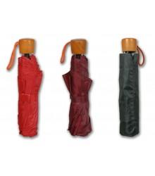 Paraguas plegable en colores lisos, pack de 12 uds