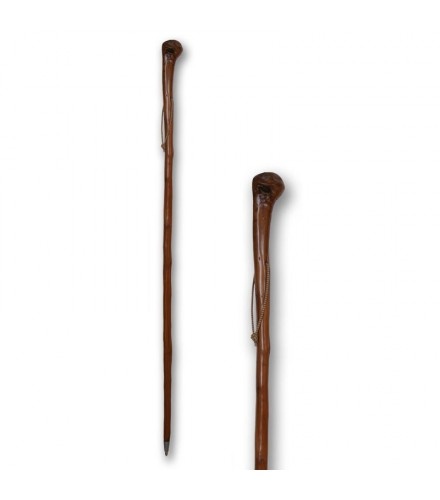 Bordón castaño raíz natural, pack de 25 uds