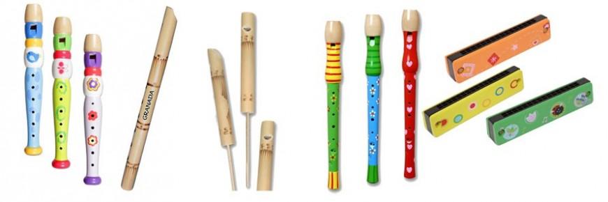 Flautas y Armónicas