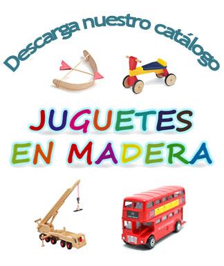 Descarga nuestro nuevo catálogo de juguetes, regalos y complementos en madera
